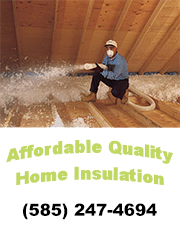 Home Insulation Contractors Rochester, NY | Affordable Quality Home Insulation